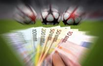billets euros ballons de football