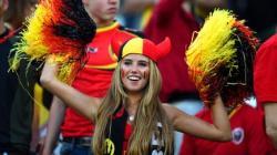 femme belge football