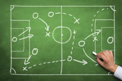 tableau strategie football